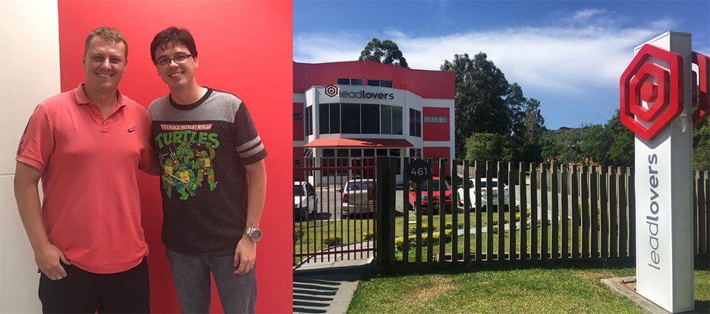 visita do nerd rico na Leadlovers em Curitiba